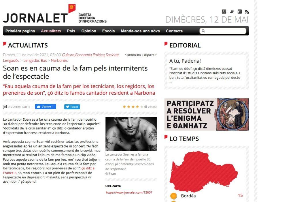 Article Jornalet